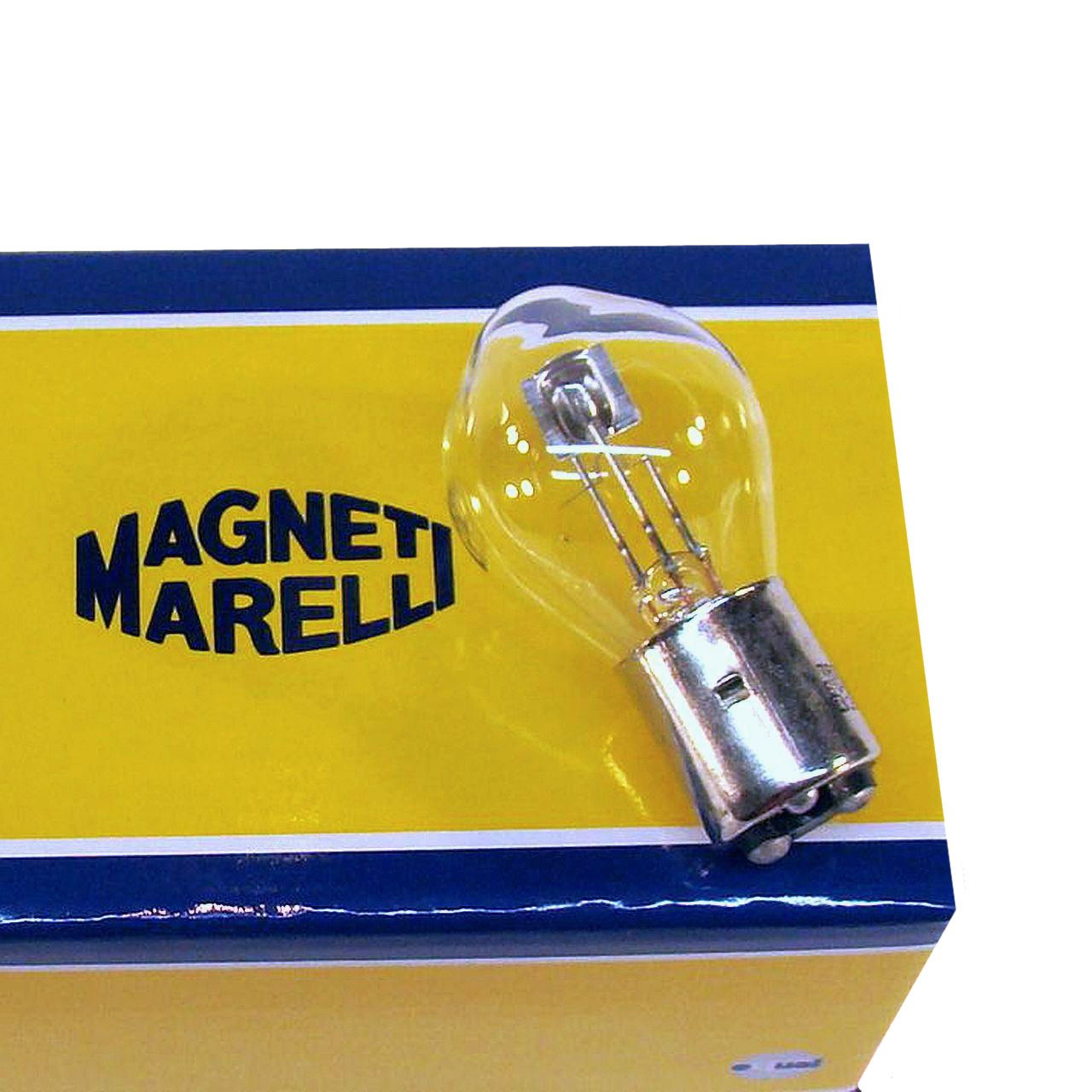 1 x Glühlampe Hauptscheinwerfer S1 25//25W 12V BA20d — Magneti Marelli