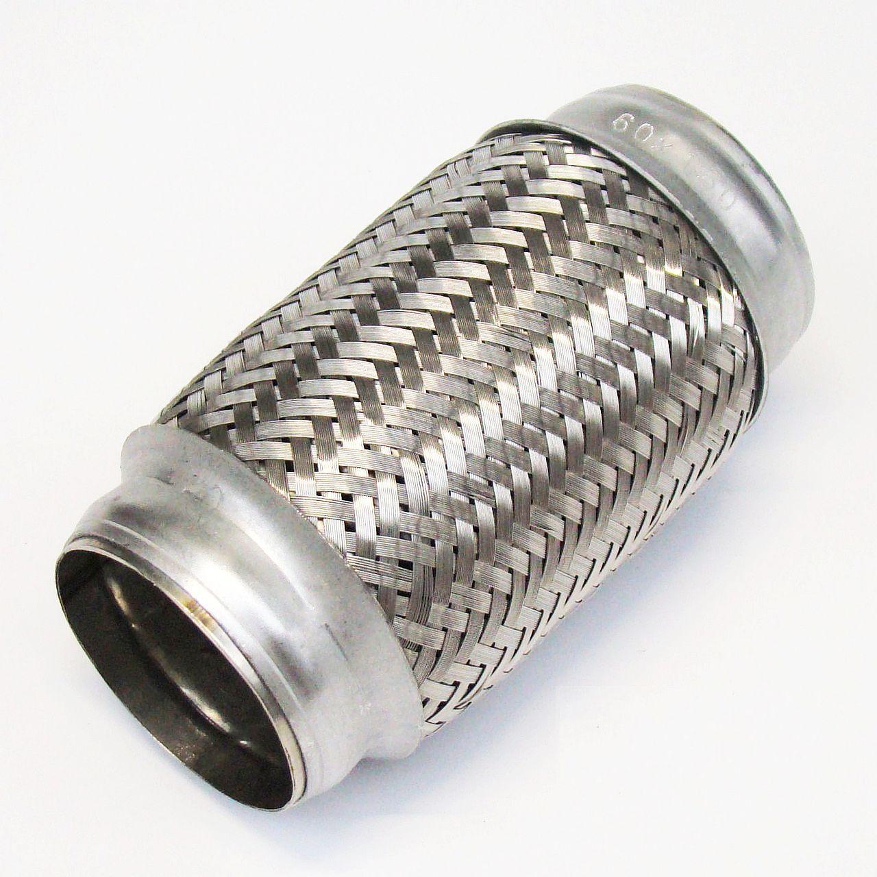 Edelstal 50x230 mm Flexrohr Flexibles Auspuff Hosenrohr Flexstück